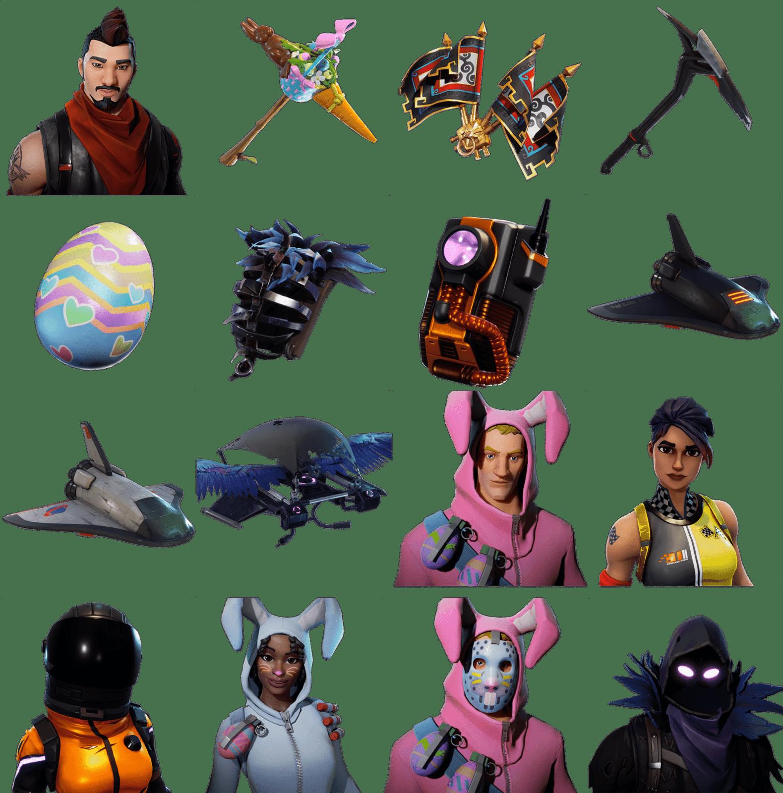 Новые костюмы и скины в обновлении 3.4.0 [Fortnite Battle Royale]