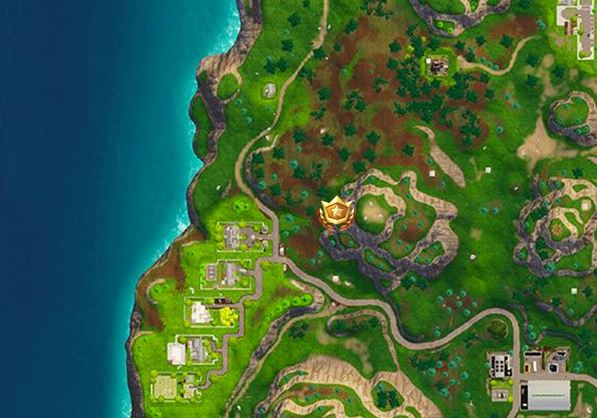 how to complete the follow the treasure map found in greasy grove challenge location - karte fortnite