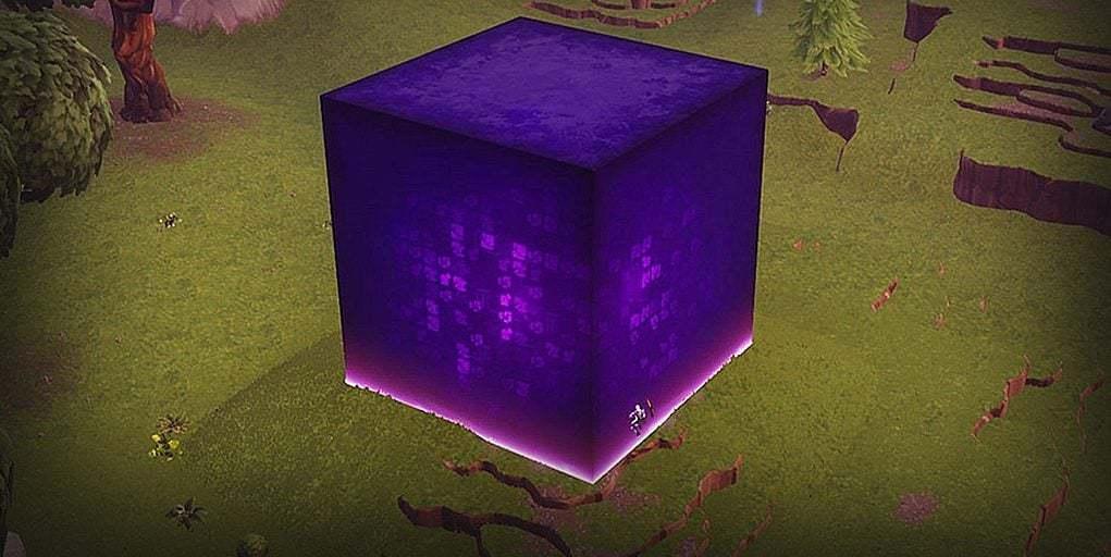 Новые зацепки с кубом в обновление Fortnite v5.41