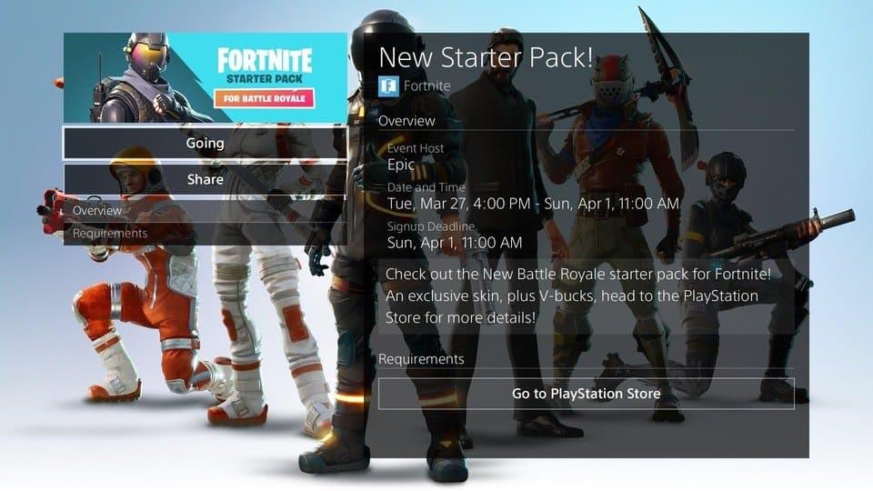 Возможно, вы сможете вернуть стартовый набор Fortnite