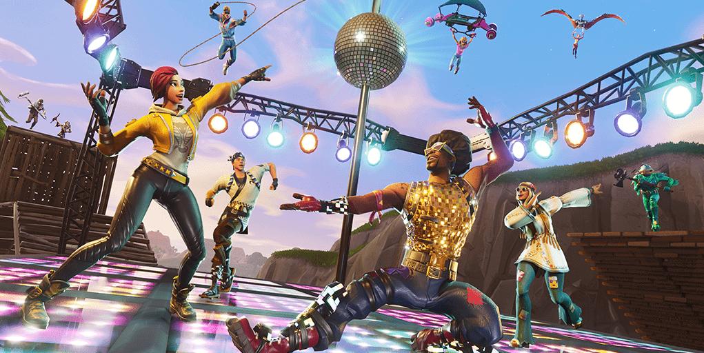 Скоро в Fortnite: диско доминирование