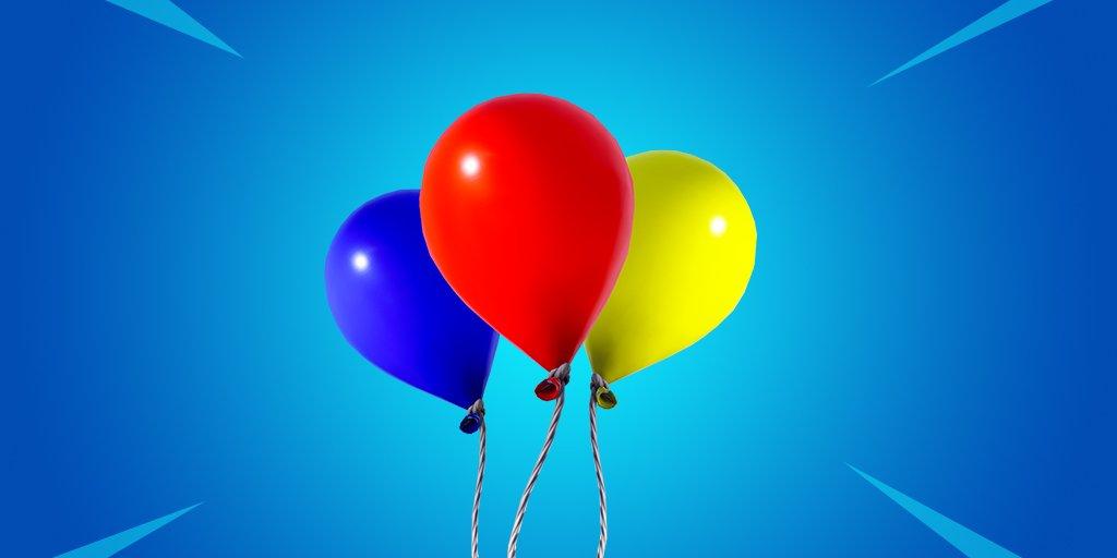 Воздушные шары скоро появятся в Fortnite
