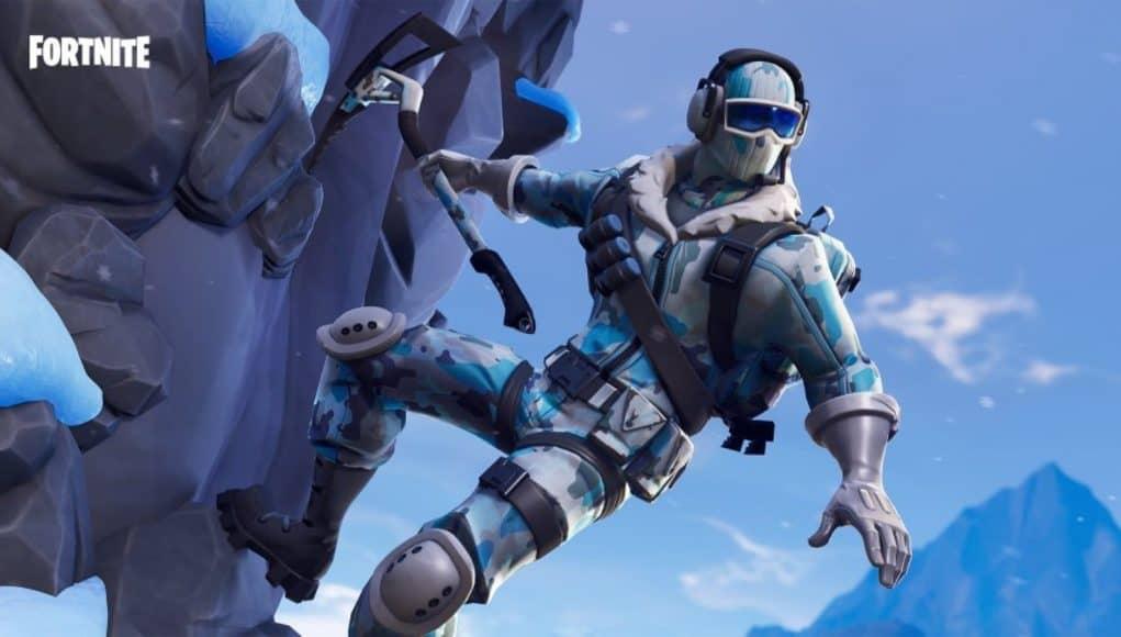 В Fortnite приближается снежная метель