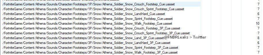 Утечка подтверждает, что снег появится в Fortnite