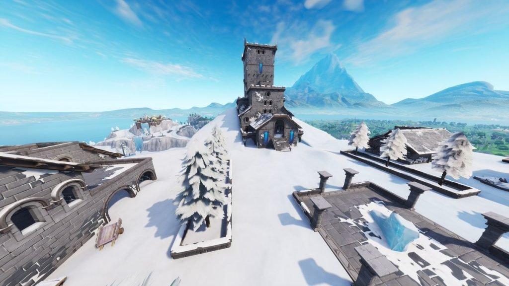 Полярный пик растаял, и показал замок Ледяного Короля