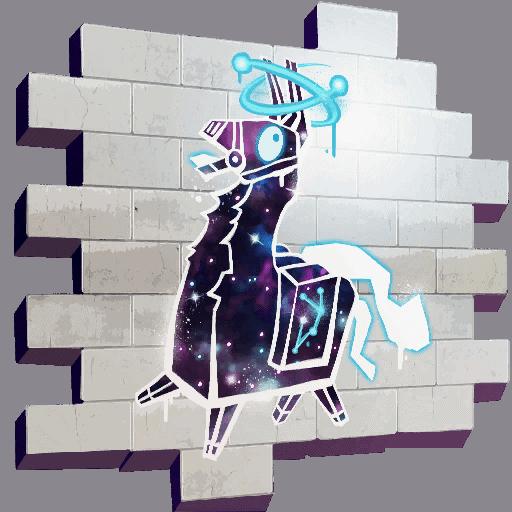Владельцы скина Fortnite Galaxy скоро получат спрей Galaxy Llama