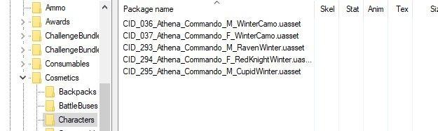 Утечка, зимние варианты красного рыцаря в Fortnite