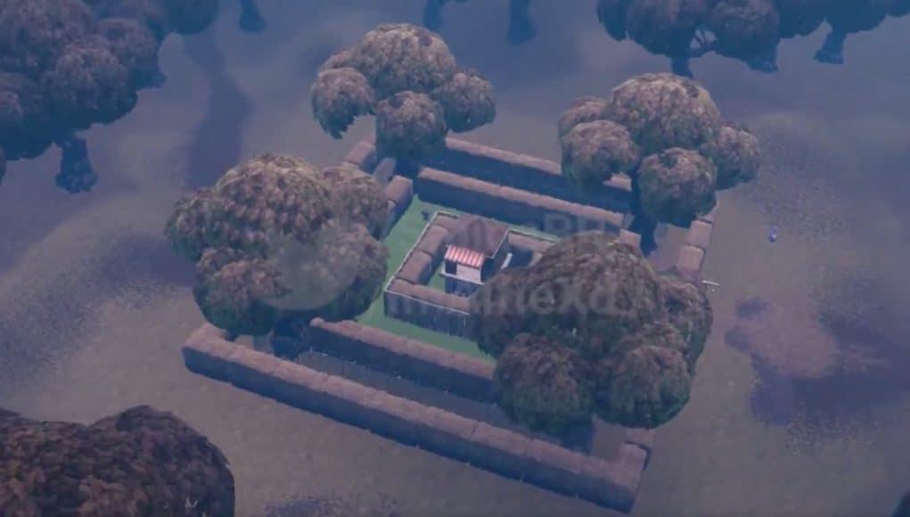 Просочившиеся кадры показывают сгоревший лес и разрушенные брошенные башни 1