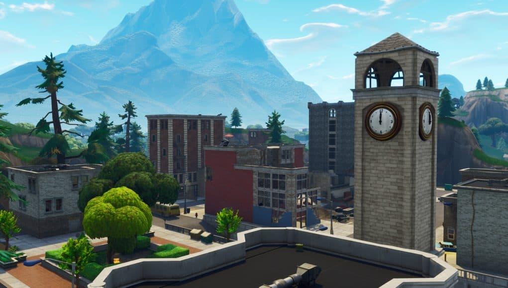 Новое здание в падающих башнях было снесено в результате последнего землетрясения в 7-м сезоне Fortnite. 1