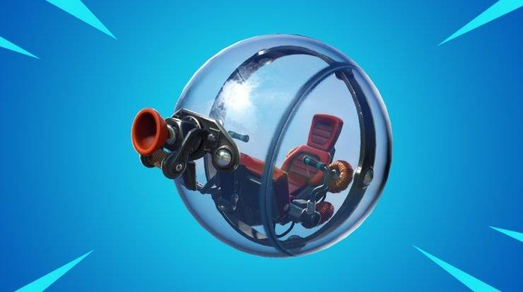 Новое транспортное средство - шар, скоро в Fortnite 1