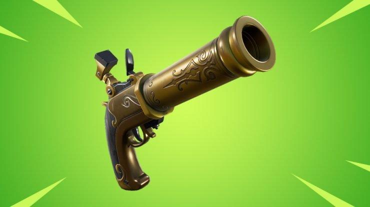 Новый пистолет скоро появится в Fortnite 1
