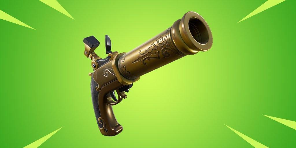 Новый пистолет скоро появится в Fortnite
