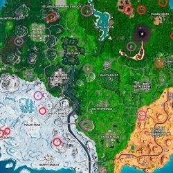 Используйте шароход в разных матчах Fortnite– карта 6