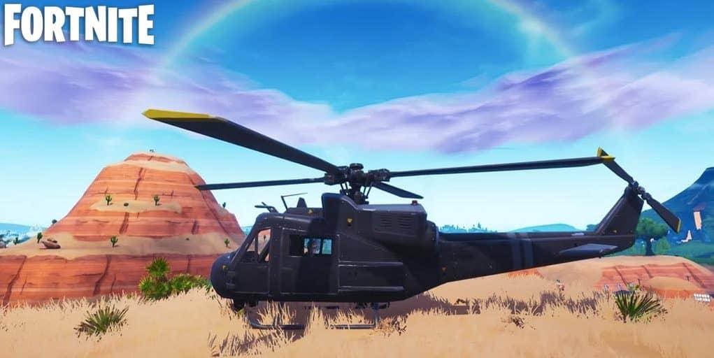 Что означает «Вертолет» в Fortnite? 6