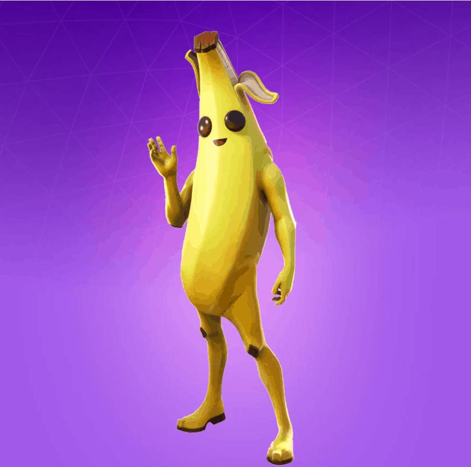 Скин Банан (Peely) в Фортнайт. Стили, Описание, Купить