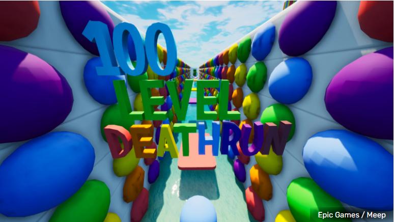 Лучшие карты Фортнайт Детран (Deathrun) для творческого режима